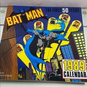 Batman 1989 Calendar The First 50 Years 16 month